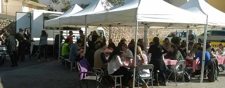 Events in Mijas Sample Food