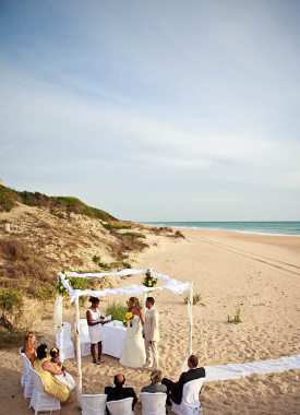 Professional wedding planners and caterers in Andalucia